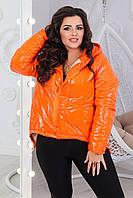 Женская куртка больших размеров , весна 2021: 50/52 54/56 58/60