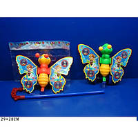 Каталка-бабочка на палке 301