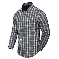 Рубашка с длинным рукавом Helikon-Tex® Covert Concealed Carry Shirt - Foggy Grey Plaid M