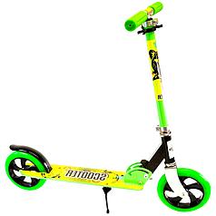 Двухколесный складнойсамокат Scale Sports Scooter 460 зеленый (SS7438)