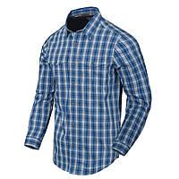 Рубашка с длинным рукавом Helikon-Tex® Covert Concealed Carry Shirt - Ozark Blue Plaid L