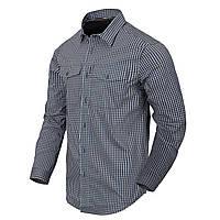 Рубашка с длинным рукавом Helikon-Tex® Covert Concealed Carry Shirt - Phantom Grey Checkered XL