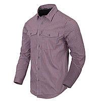 Рубашка с длинным рукавом Helikon-Tex® Covert Concealed Carry Shirt - Scarlet Flame Checkered S