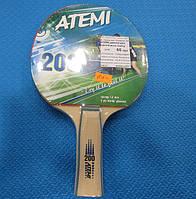 Ракетка для настольного тенниса Atemi 200 для начинающих
