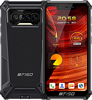 Oukitel F150 Bison 2021 6/64Gb Black, IP68, 8000 mAh, NFC, Android 10, Защищенный смартфон Oukitel F150 B2021
