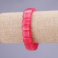 Браслет Турмалин им. звено 10х14(+-)мм на резинке купить оптом в интернет магазине