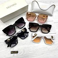 Очки женские брендовые солнцезащитные Новинки 2021, фото 1