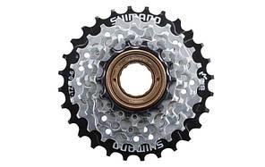 Трещотка (кассета) для велосипеда SHIMANO TZ-510-6, 14-28Т (6 скоростей)