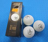 Мячи для настольного тенниса Atemi 3* ( 3 шт)