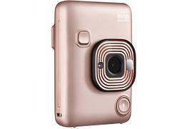 Камера моментальной печати Fujifilm Instax Mini LiPlay Blush Gold