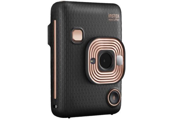 Камера моментальної друку Fujifilm Instax Mini LiPlay Elegant Black