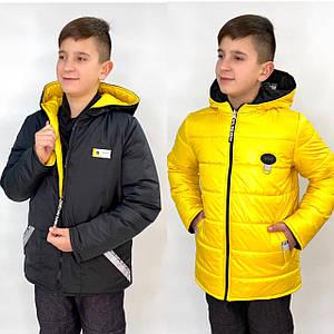 Курточка детская демисезонная Бил для мальчика р.128см