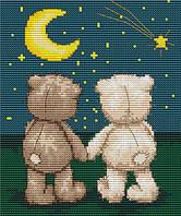 Набор для вышивки крестом Luca-S B1091 Медвежонок Бруно