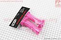 Ручки керма дитячі 95мм, рожеві PVC-138A, фото 2