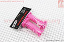 Ручки руля детские 95мм, розовые PVC-138A, фото 2