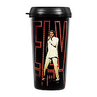 "Кружка с крышкой ""Elvis Travel Mug: In Lights"""