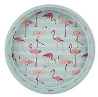 """Піднос """"Flamingo"""" 33 см, зелений"""