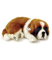 Дышащая игрушка мягкая Breathing Pet Сенбернар