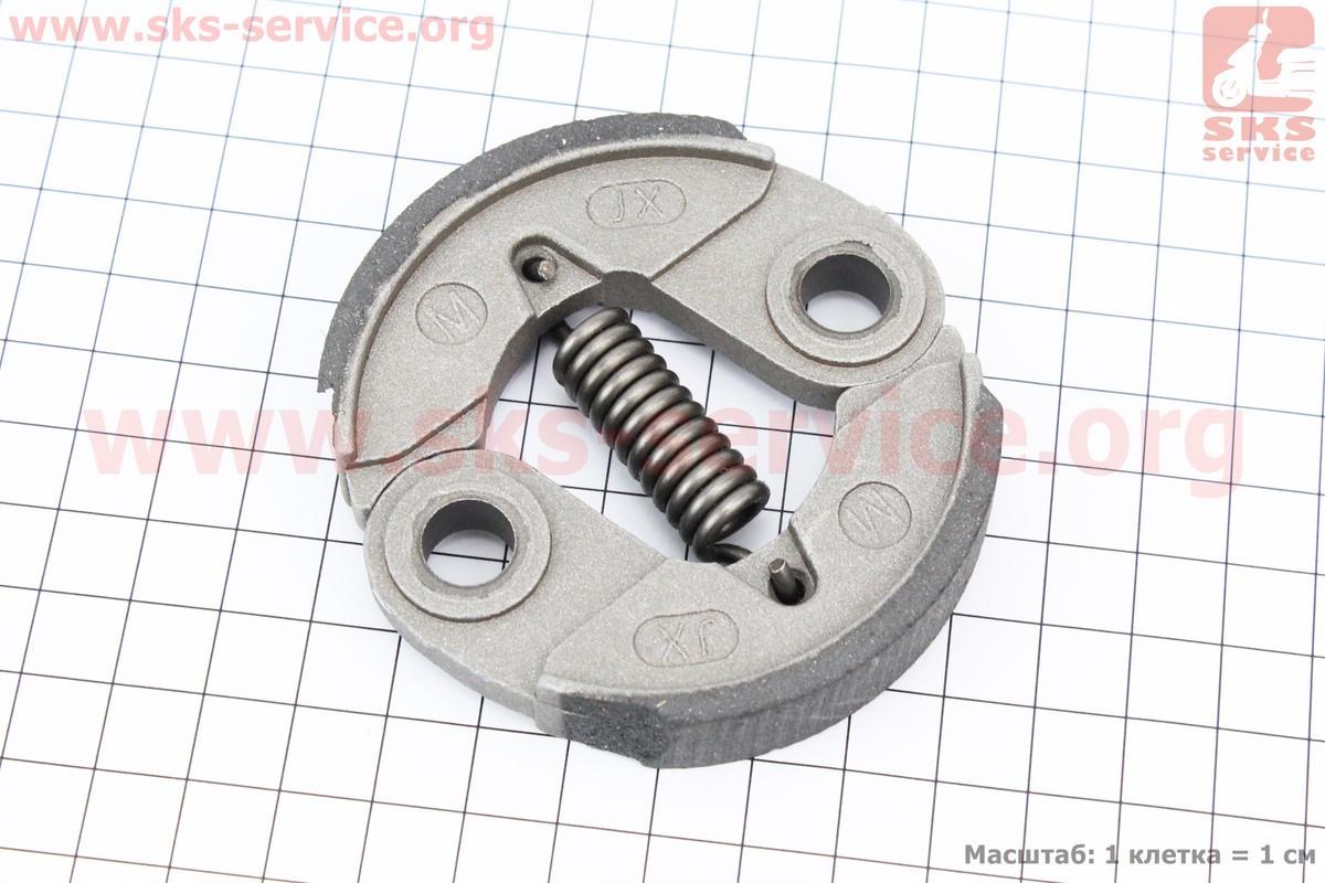 УЦЕНКА Сцепление (длинная пружина) ?76mm, алюминий (битые накладки, см. фото)