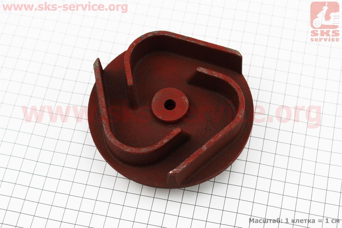 Рабочее колесо (крыльчатка) D=119mm, под вал d=20mm, 3 лопасти, чугун