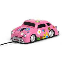 """Компьютерная мышь """"Flower"""", розовая"""