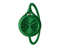 Годинник універсальні Lexon Take Time з ремінцем з силікону, зелені