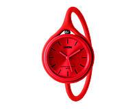 Годинник універсальні Lexon Take Time з ремінцем з силікону, червоні