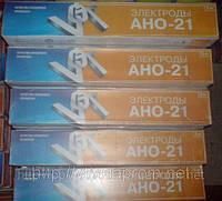 """Электроды  """"ВИСТЕК"""" АНО-21, диаметр 3 мм (5 кг/уп)."""