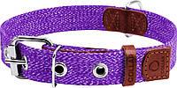 02639 Collar Брезентовый ошейник фиолетовый, 51-63см/35мм