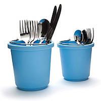 Універсальна підставка для потрібних речей, блакитна