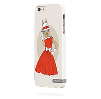 Чехол-накладка для iPhone 4/4s Бельчонок
