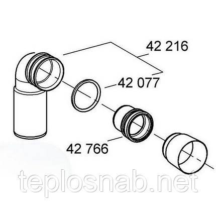 Подовження зливної труби для інсталяції Grohe 42766000, фото 2