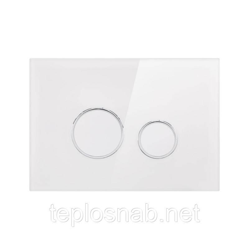 Панель смыва для унитаза Qtap Nest QT0111V1164GW
