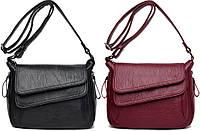 Стильная молодежная дизайнерская женская сумка через плечо, фото 1