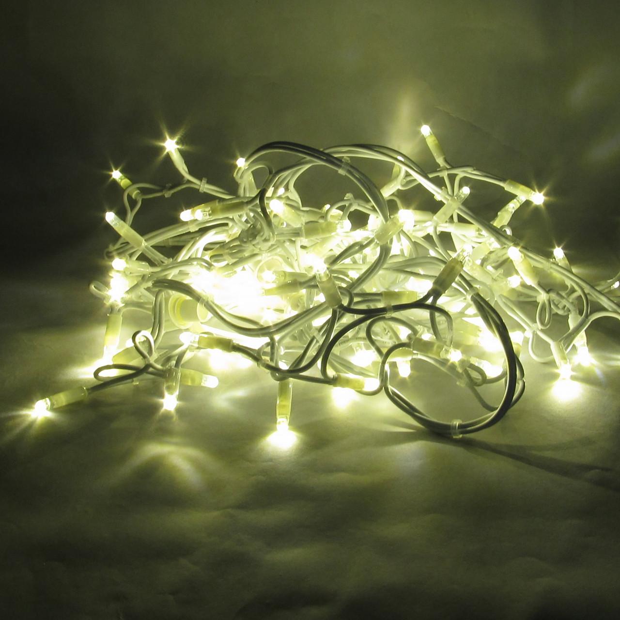 Светодиодная гирлянда нить String Light 20м 200LED Каучук