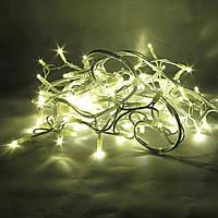 Светодиодная гирлянда нить String Light 20 м, 200 LED, Каучук