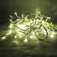 Светодиодная гирлянда нить String Light 20м 200LED Каучук, фото 1