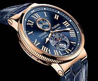 КАЧЕСТВО! Мужские кварцевые часы Ulysse Nardin Улис Нардин