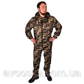 Камуфляжный костюм с капюшоном UkrCamo КПТ 54р. Пиксель тёмный