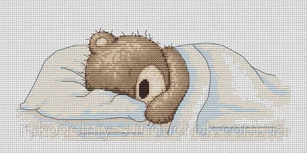 Набор для вышивки крестом Luca-S B1036 Медвежонок Бруно