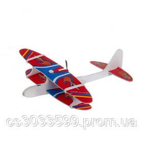 Літак з електромоторчиком і LED підсвічуванням