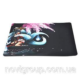 Килимок 240 * 200 тканинний GAMER, товщина 2 мм, колір Mix Color, Пакет