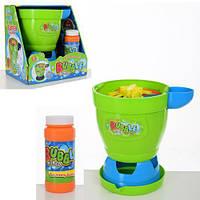 Розважальний ігровий набір для дітей - Генератор запуску мильних бульбашок, мильний розчин у комплекті