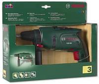 Іграшкова Безпечна Дриль Bosch для хлопчиків з обертовим свердлом, світловими та звуковими ефектами, Klein