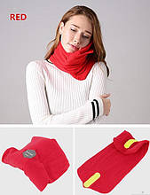 Подушка-шарф для путешествий Travel Pillow, красный