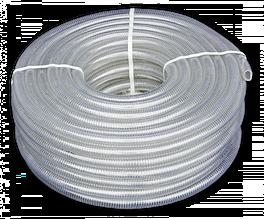 Шланг вакуумно-напірний, METAL-FLEX, з оцинкованої спіраллю, 13мм/30м, MF13