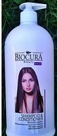 Професиональный кондиционер Biocura Shampoo& Conditioner Antischupen