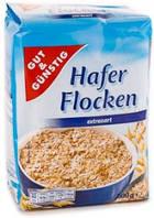 Овсяные хлопья Haferflocken extrazart вівсяні пластівці