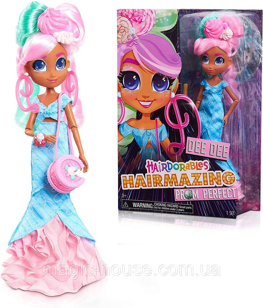 Hairdorables Hairmazing Prom Perfect Fashion Dolls, Dee Dee  Кукла Хэрдораблс Ди Ди 2 серия Оригинал!