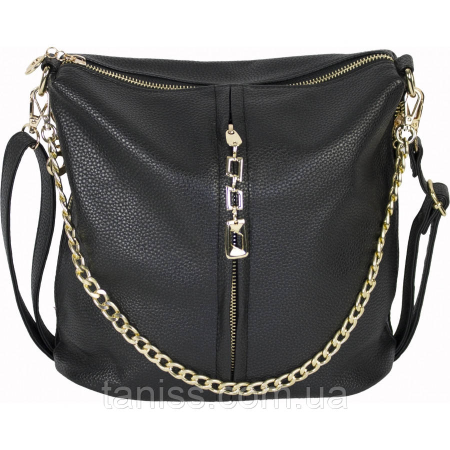 Женская,стильная сумка клатч, материал кожзам, одна длинная ручка,одно отделение,украшение цепочка (002)